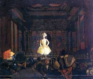 Walter Richard Sickert - Gatti-s hungerford pallace di Varietà secondo turno di katie lawrence
