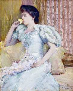 Frederick Childe Hassam - Lillie ( lillie langtry )