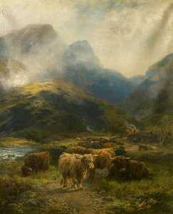 Henry Garland - Drovers- Riposare in le highlands