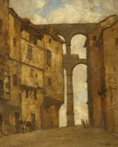 Isobelle Ann Dods Withers - l acquedotto , Segovia , In spagna