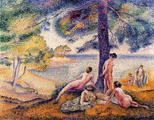 Henri Edmond Cross - a posto in il `shade`