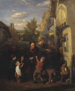 William Mulready The Younger - fair time ( -Returning dal Birra House- )