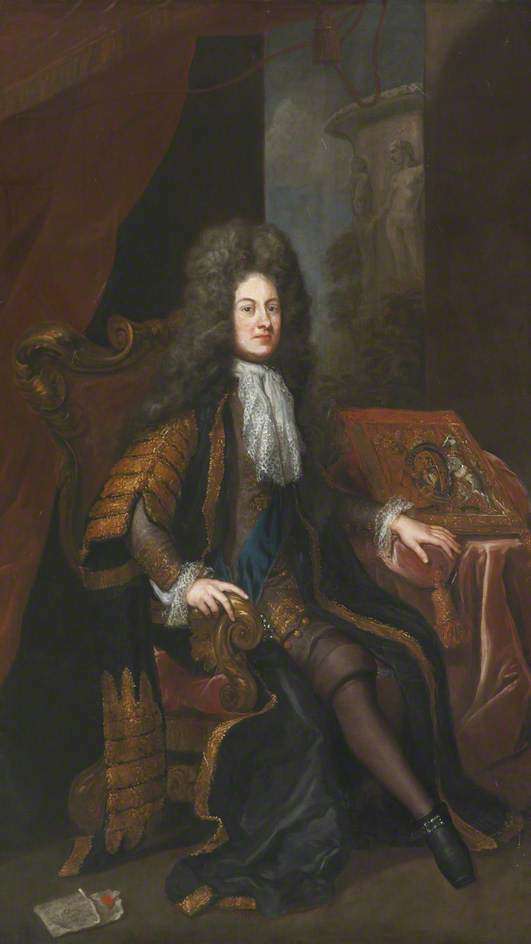 Giovanni Sheffield ( 1647–1721 ) , 1st duca di buckingham e normanby, 1705 di Jonathan Richardson The Elder (1667-1745) | Copia Pittura | ArtsDot.com