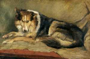 William Henry Charlton - Collie Cane