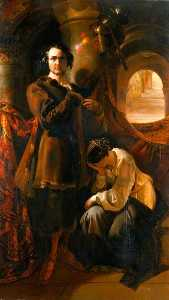 Daniel Maclise - Macready come Werner